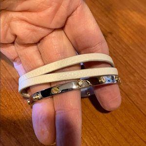 NWT henri bendel triple wrap bracelet